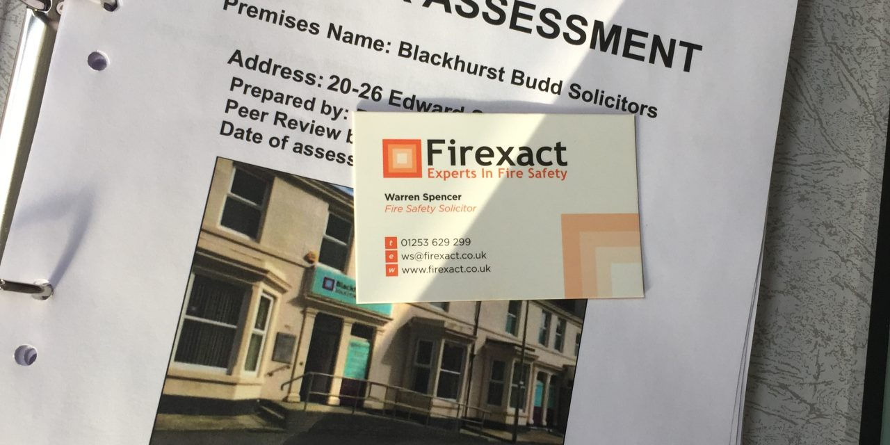 Consultant Risk Assessor Receives Prison Sentence for 'Woefully Inadequate' Fire Risk Assessment