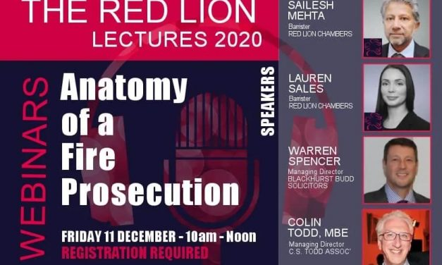 Anatomy of a Fire Prosecution